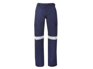 100% Cotton Reflective Cargo Trousers