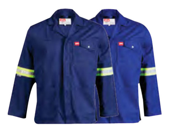 100 Percent Cotton Reflective Work Jacket