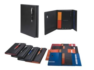 A4 Pods Manhattan Notebook With Pen Closure