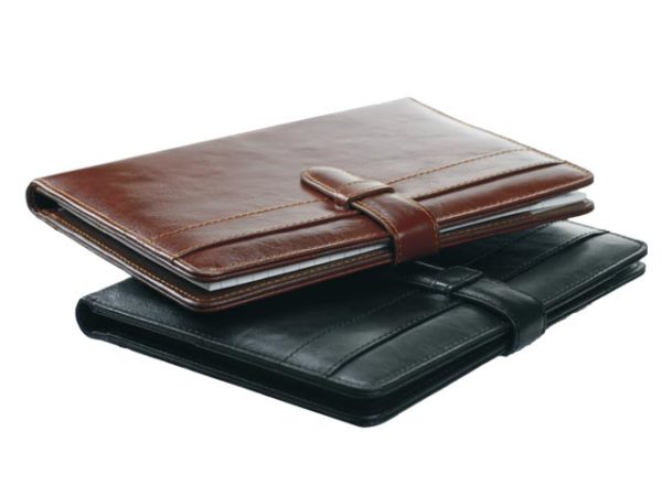 A5 Leather Folder With Tab
