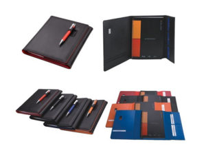 A5 Pods Manhattan Notebook With Pen Closure