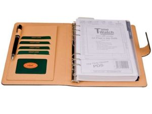 A5 Pu Organiser With Tab Closure