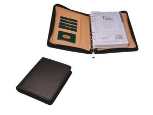 A5 Pu Zip Around Organiser