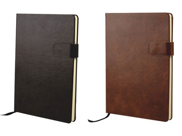 A5 Rico Pu Notebook With Tab Closure