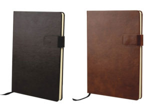 A6 Rico Pu Notebook With Tab Closure