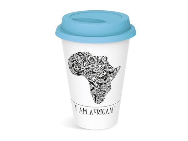 Andy Cartwright I Am African Tumbler
