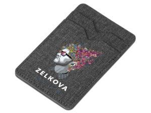 Aurora Double Phone Card Holder