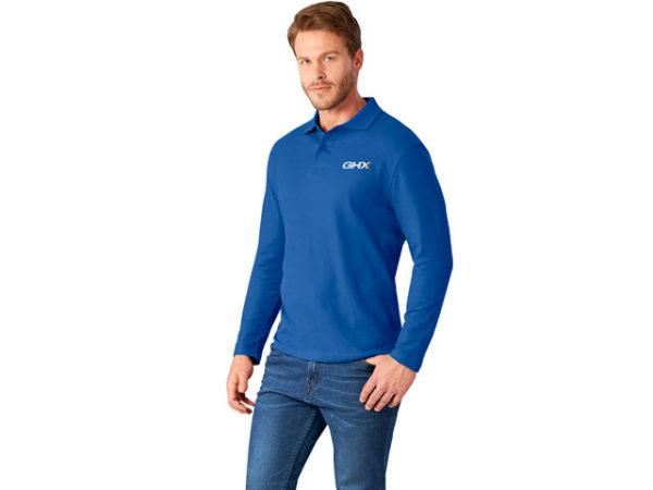 Boston Long Sleeve Mens Golf Shirt