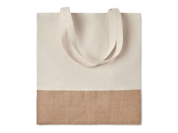 Cotton Jute Shopper