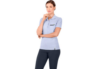 Jacquard Ladies Golf Shirt