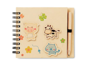 Kiddies Notepad And Pencil