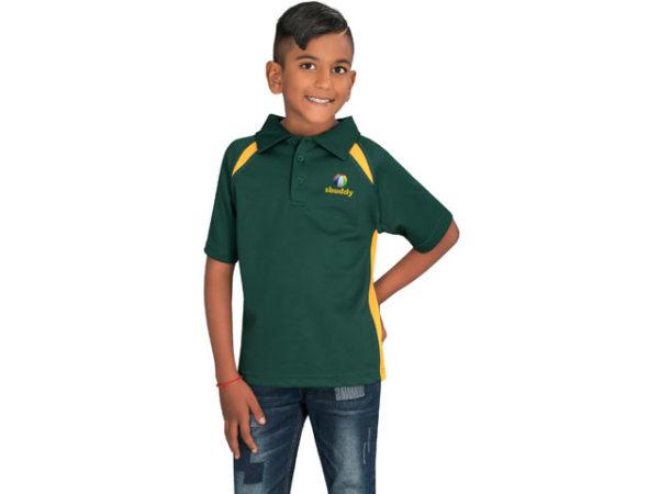 Kids Splice Short Sleeve Golf Shirt