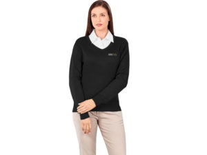 Ladies Long Sleeve Peru V-Neck Jersey