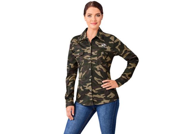 Ladies Long Sleeve Wildstone Shirt