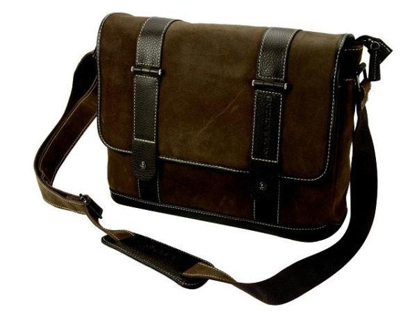 Leather Executive Messenger Bag