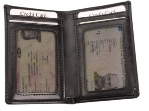 Leather Id;Drivers Licence; Card Holder