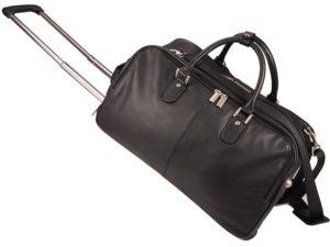 Leather Memphis Trolley Travel Bag