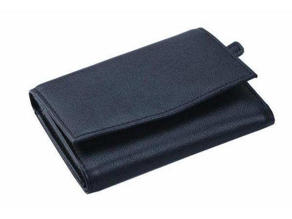 Leather Tri-Fold Ladies Purse