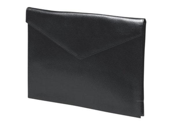 Leather V-Flap Document Holder