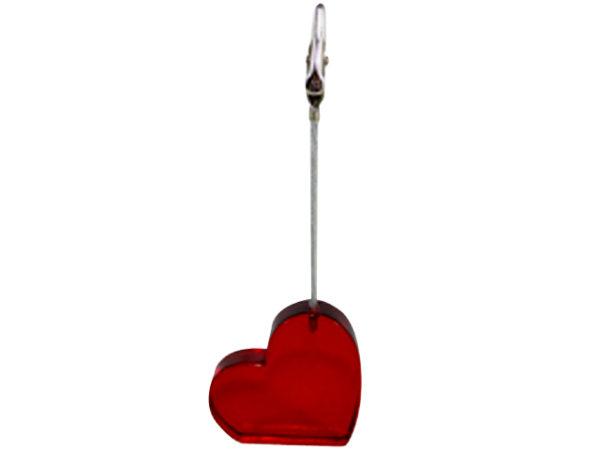 Memo Clip Heart