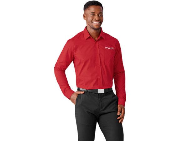 Mens Long Sleeve Kensington Shirt