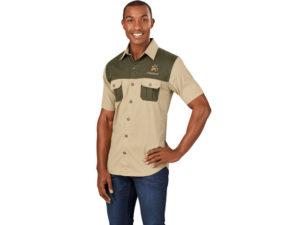 Mens Short Sleeve Serengeti Bush Shirt
