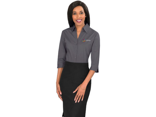 Metro Stretch 3/4 Sleeve Ladies Shirt