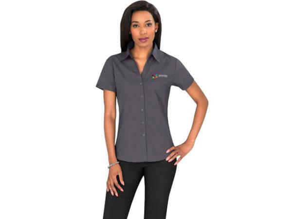 Metro Stretch Short Sleeve Ladies Shirt