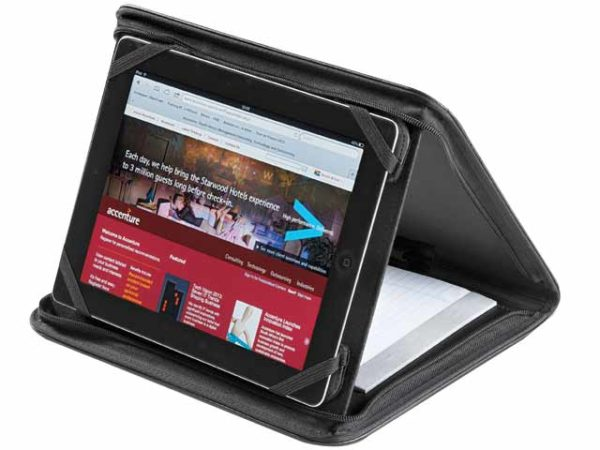 Onyx Zip-Around Tablet Holder And Stand