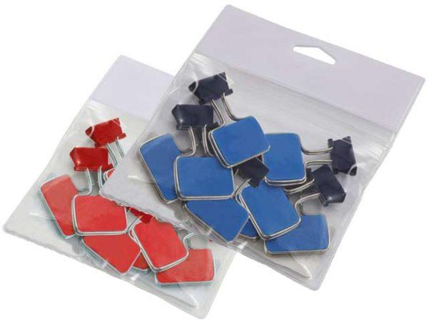 PVC bag & clips