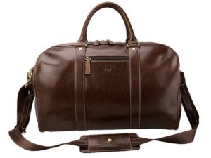 Panema Leather Travel Bag
