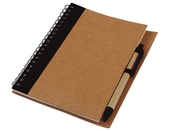 Recycle Notebook & Pen