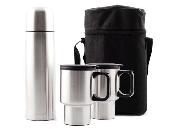 Thermal Flask And Mug Set