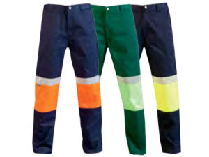 Two Tone Reflective Work Trousers