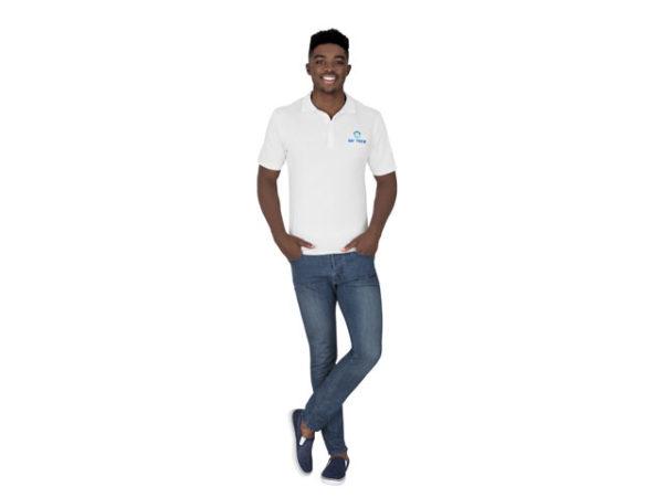 Us Basic - Cardinal Single Jersey Golf Shirt - Men