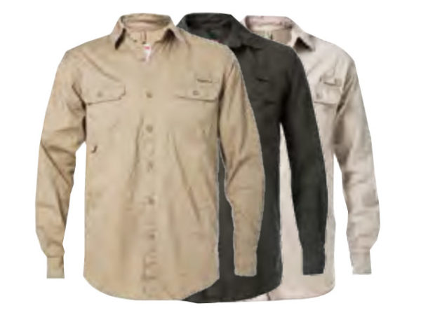 Vented Long Sleeve Shirt