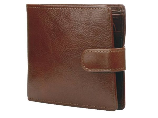 Wallet With Coin Purse And Tab
