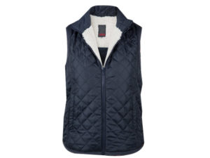 Womens Quilted Sherpa Bodywarmer