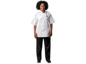 Zest Short Sleeve Chef Jacket